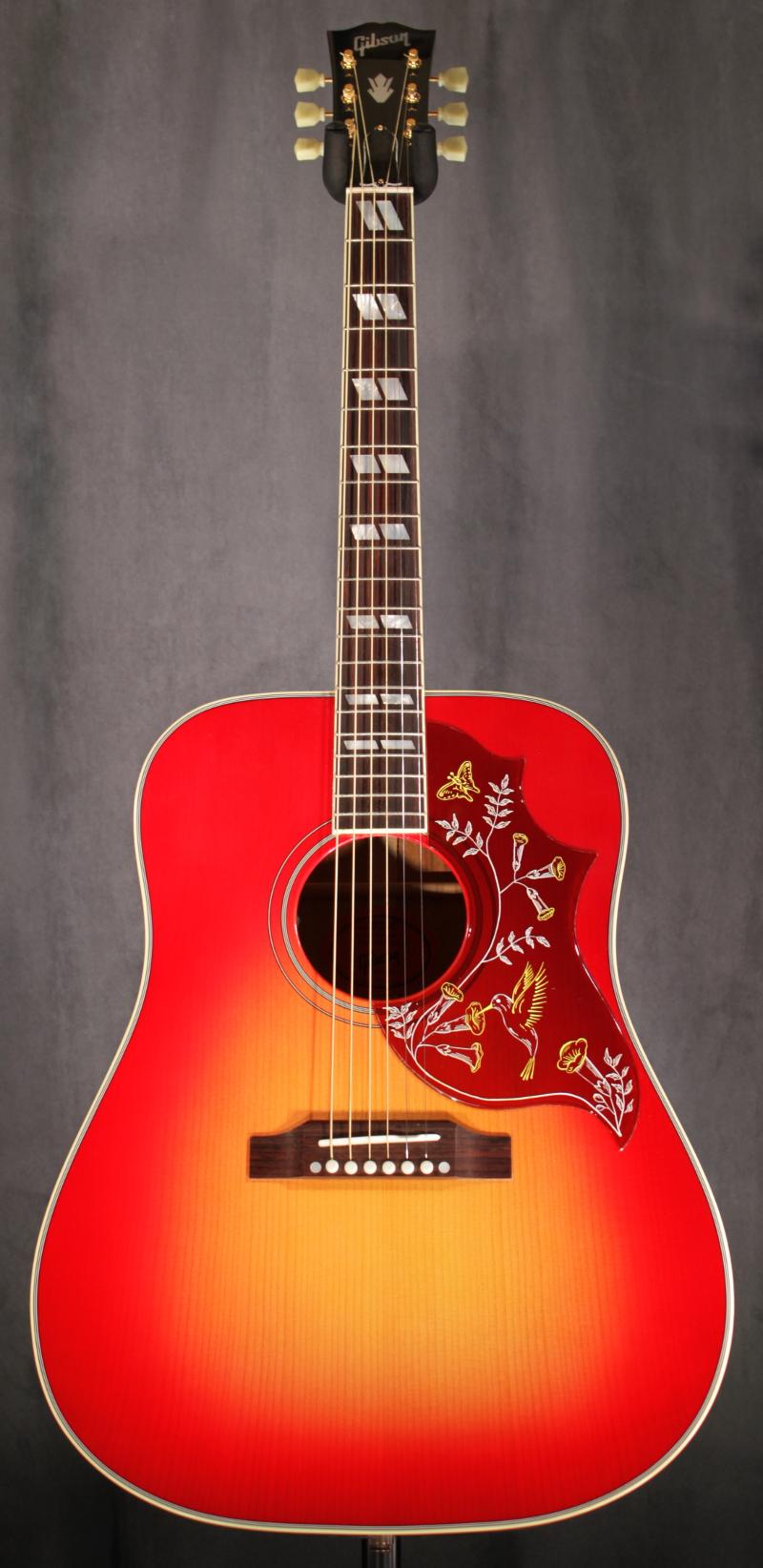 gibson hummingbird ltd edition red spruce long mcquade musical instruments. Black Bedroom Furniture Sets. Home Design Ideas